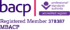 Qualifications & Training. BACP Logo